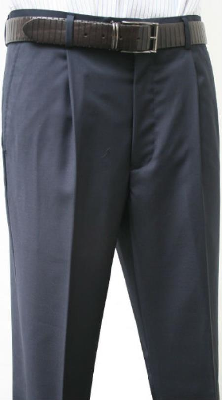 Valenti Mens Single Pleated