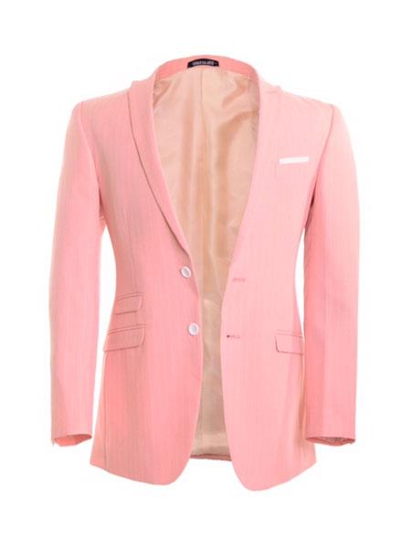 Single Breasted Peach Blazer