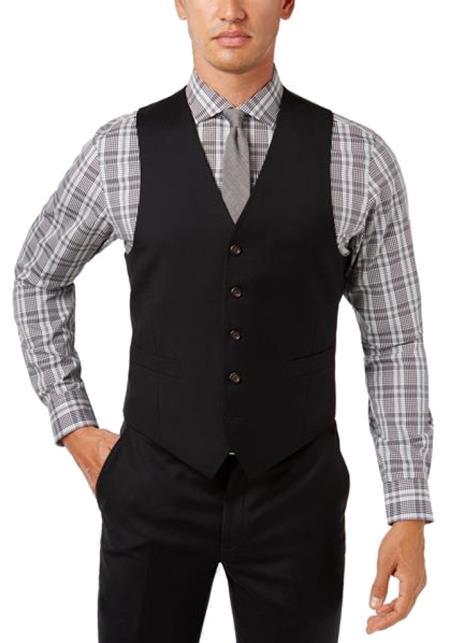 Linen vest for men