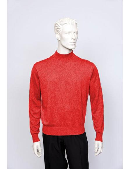 Mens Red Sweater set Available in Big And Tall Sizes