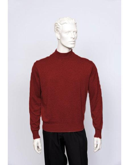 Mens Wine Sweater set Available in Big And Tall Sizes