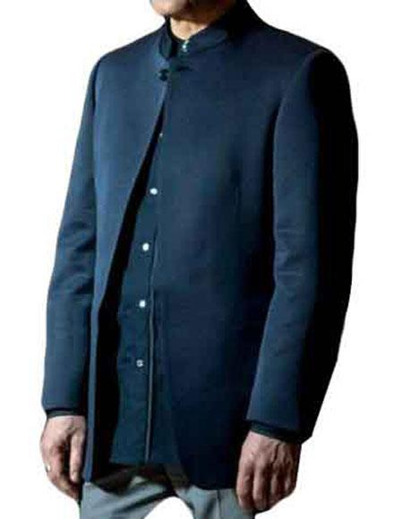 Buy GD1133 Men's Christoph Waltz Blofeld Spectre Long Sleeves Dark Blue Jacket