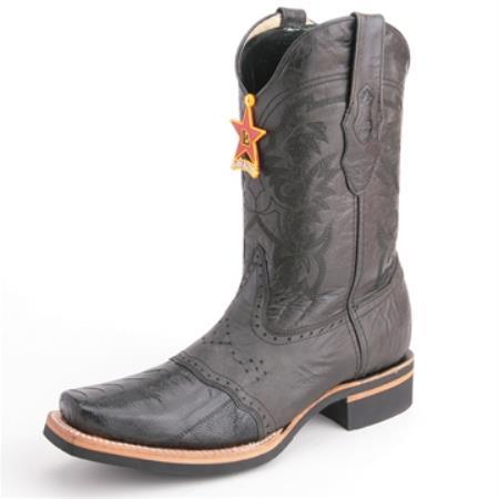 Altos Black Boots Genuine