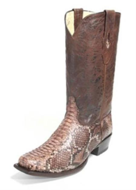 Altos Brown Genuine Python