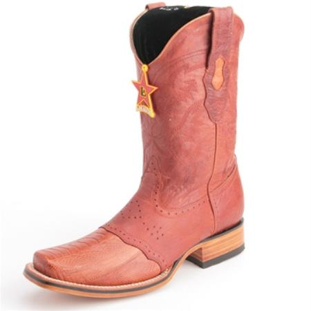Altos Cognac Boots Genuine