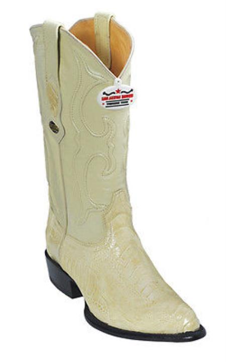 Buy KA6388 Ostrich Leg Cream ~ Ivory ~ White Los Altos Men's Cowboy Boots Western Classics Rider