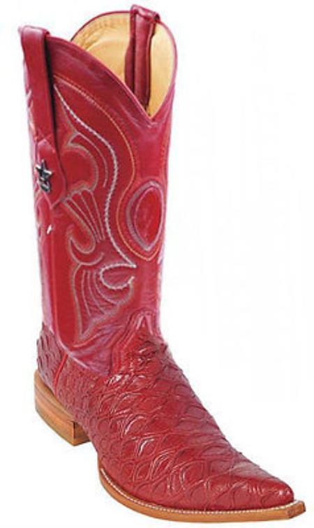 Buy KA2038 Anteater Print Riding Red Los Altos Men's Western Boots Cowboy Classics