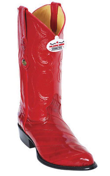 Buy KA2875 Eel Classy Vintage Riding Red Los Altos Men's Western Boots Cowboy Classics