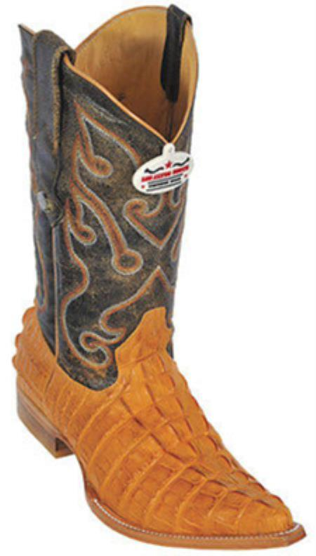 Buy KA5569 Croc Tail Print Riding Buttercup Los Altos Men's Western Boots Cowboy Classics