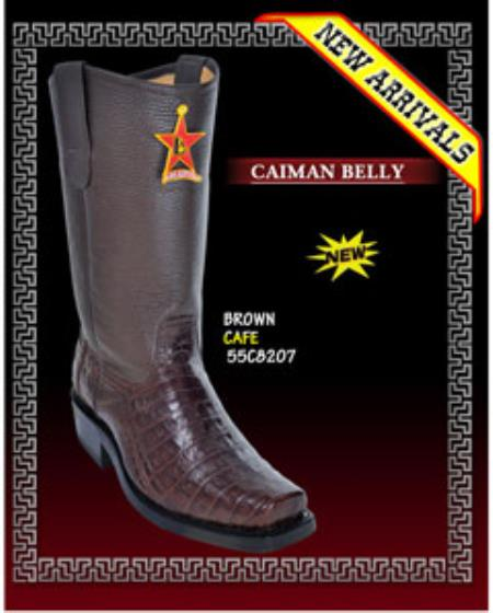 Belly Biker Boots by