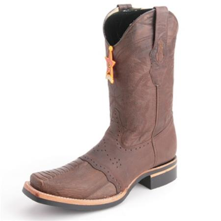 Altos Brown Boots Genuine