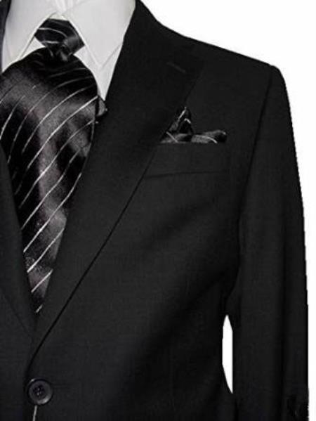 Mantoni Notch Lapel Wool