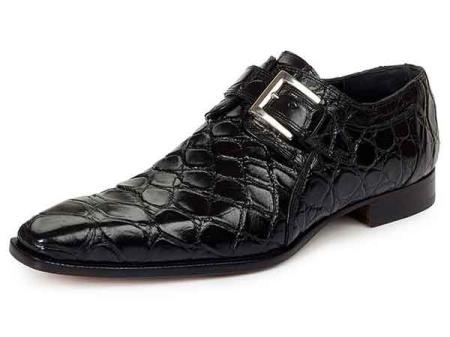 Italy Mens Alligator Skin