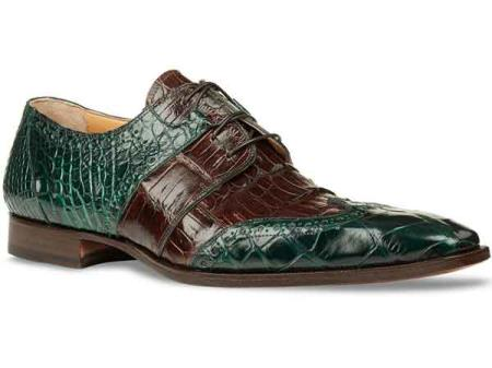 Mens Italy Alligator Skin
