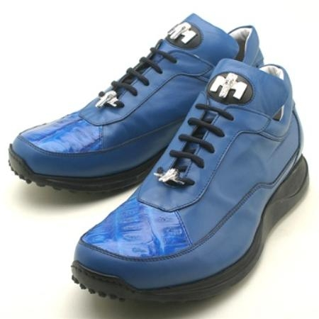 SKU#DP7732 Mauri Brilliant Blue Genuine Crocodile $249