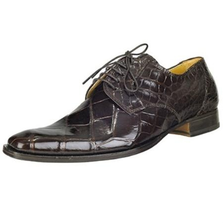 SKU#YX5379 Mauri Brown Genuine Alligator $550