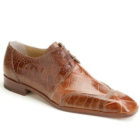 SKU#VF3576 Mauri Camel Genuine Alligator & Ostrich $550