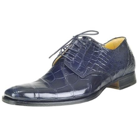 SKU#GJ9313 Mauri Wonder Blue Genuine Alligator $550
