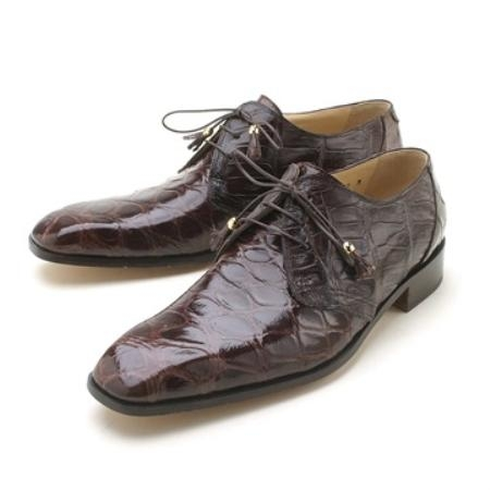 SKU#MQ1121 Mauris Sport Rust Genuine Body Alligator $645