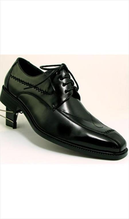 Two Tones Shoes Black