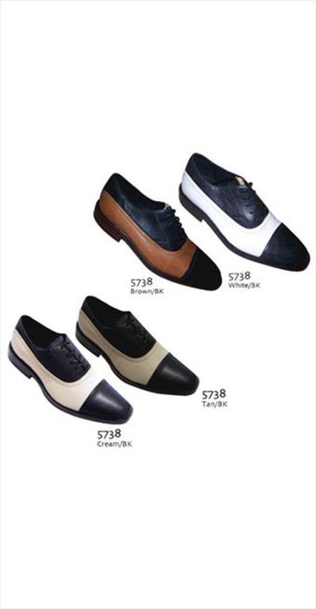 Tones Shoes Black/White