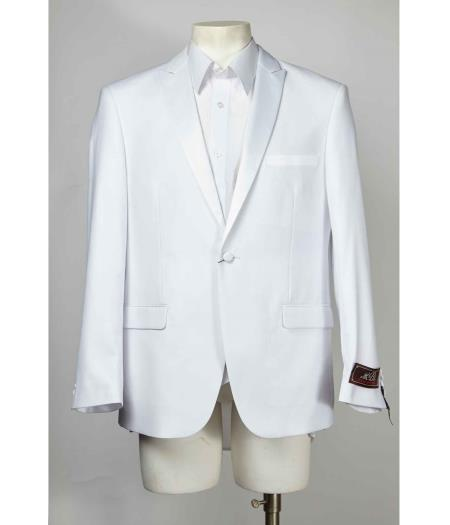 Mens 1 Button White Cheap Priced Designer Fashion Dress Casual Blazer For Men On Sale Blazer dinner jacket Fashion Tuxedo For Men