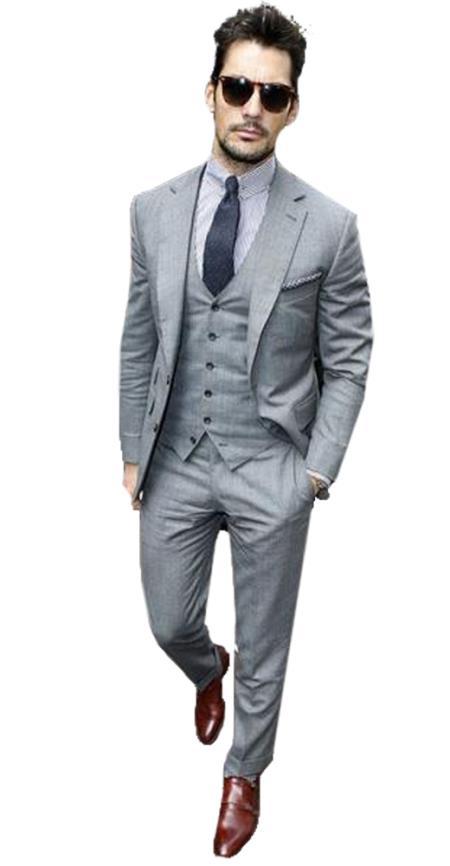 Alberto Narodni Summer Wedding Linen Vest & Pants Vested 3 Piece Suit 2 button Suit Light