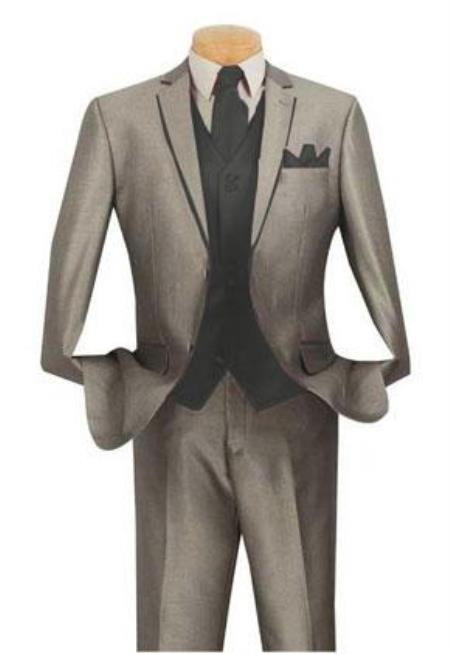 Grey ~ Gray Suit