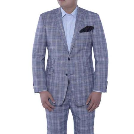 2-piece Suit Iacopo Blue