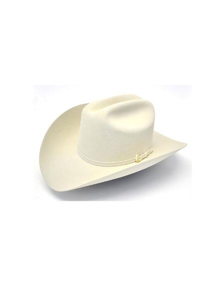 Mahan Hats-6X Real Silver