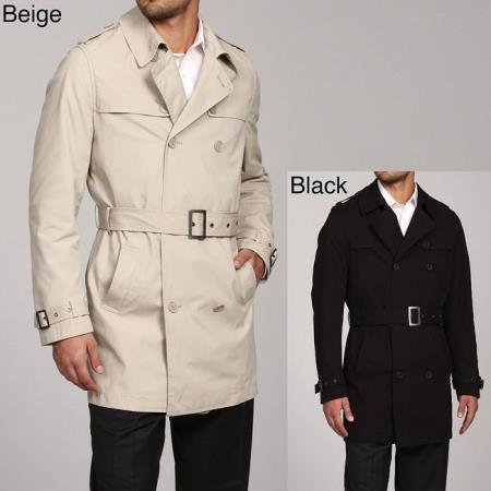 Mens Belted Raincoat