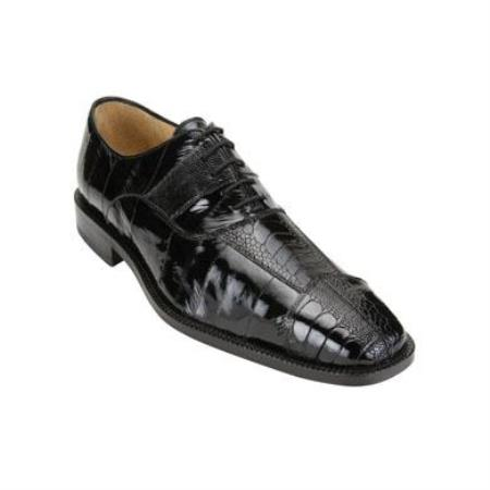 Mare Ostrich/Eel Shoes Black
