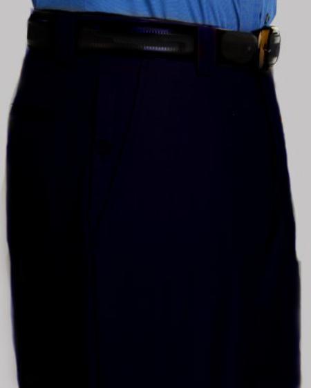 Mens Sand Flat Front Pants - Cheap Priced Dress Slacks For Men On Sale