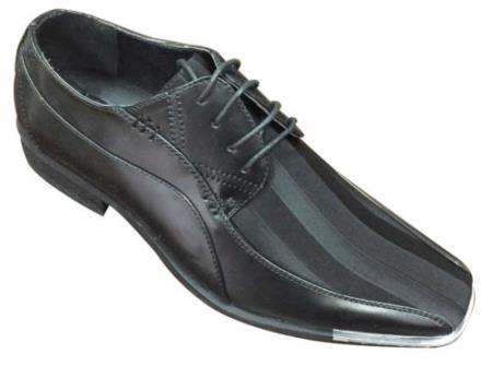Black Elegant Synthetic Upper