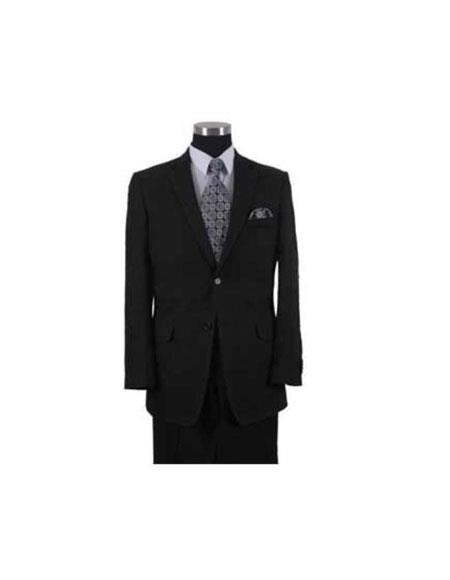 Linen~Cotton Black 2 Button Elbow Patch sleeve Men's Summer Suit or Blazer or Sportcoat