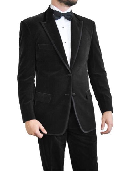 Black Velvet Tuxedo~Velour 2