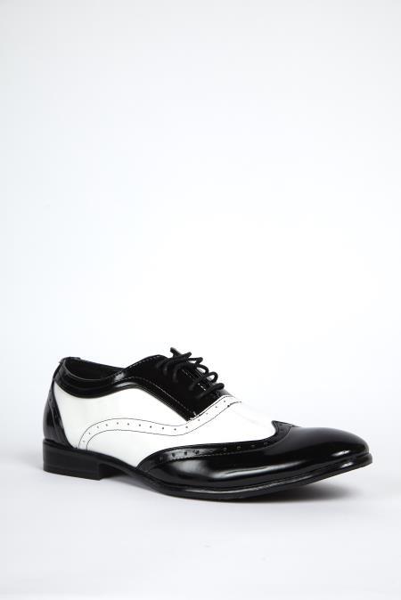 Black & White Wingtip