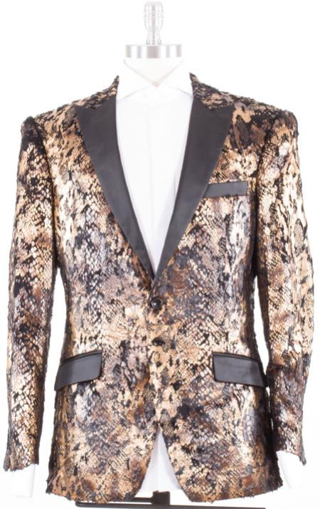 Angelino Satin Lapel and