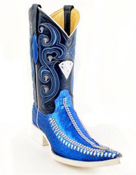 Vaquera Fashion Azul