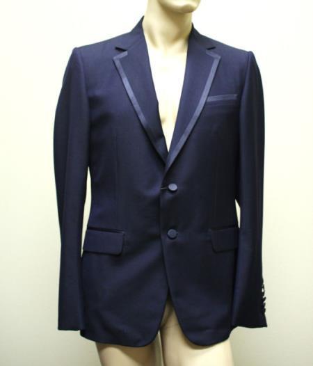 SKU#KA6637 New Authentic Mens Wool Tuxedo Suits Pants Trousers