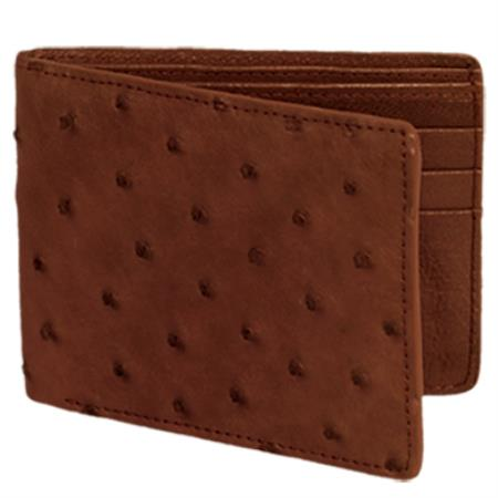 Avestruz Mens Wallet –
