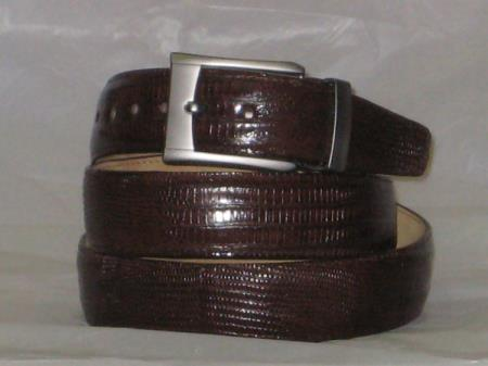 Genuine Authentic Brown Lizard