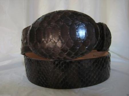 Brown Python Snake Western