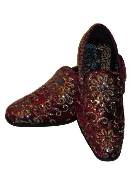 Burgundy ~ Wine ~ Maroon Color Dress Shoes