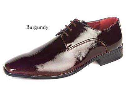 dress Burgundy shoes