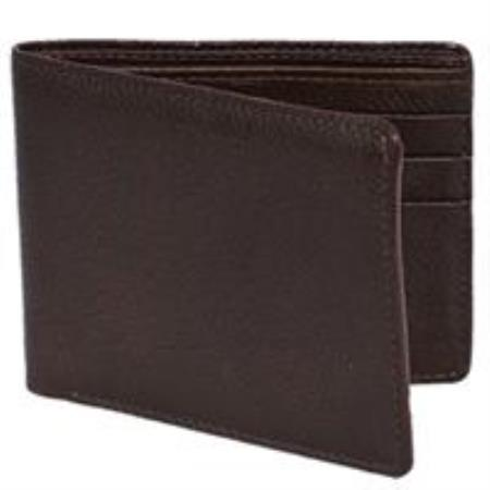 Alce Mens Wallet -Cafe