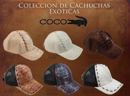 Hats Genuine caiman ~