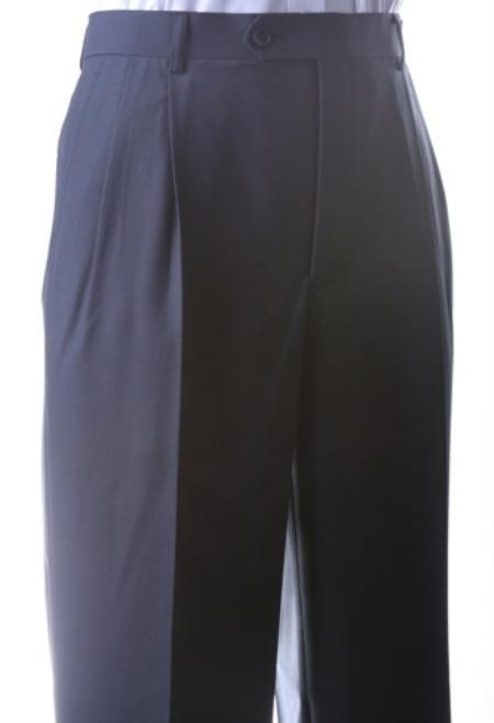 Men's Super 150s Extra Fine Dress Pants unhemmed unfinished bottom