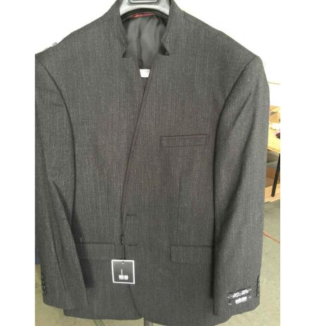 2 Buttons Mandarin Suit