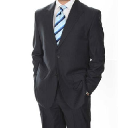 SKU#HY9580 Mens Classic Peaked Lapel 2-button Suit